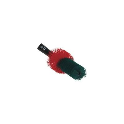 Vikan Velgenborstel Rood / Groene harde haren