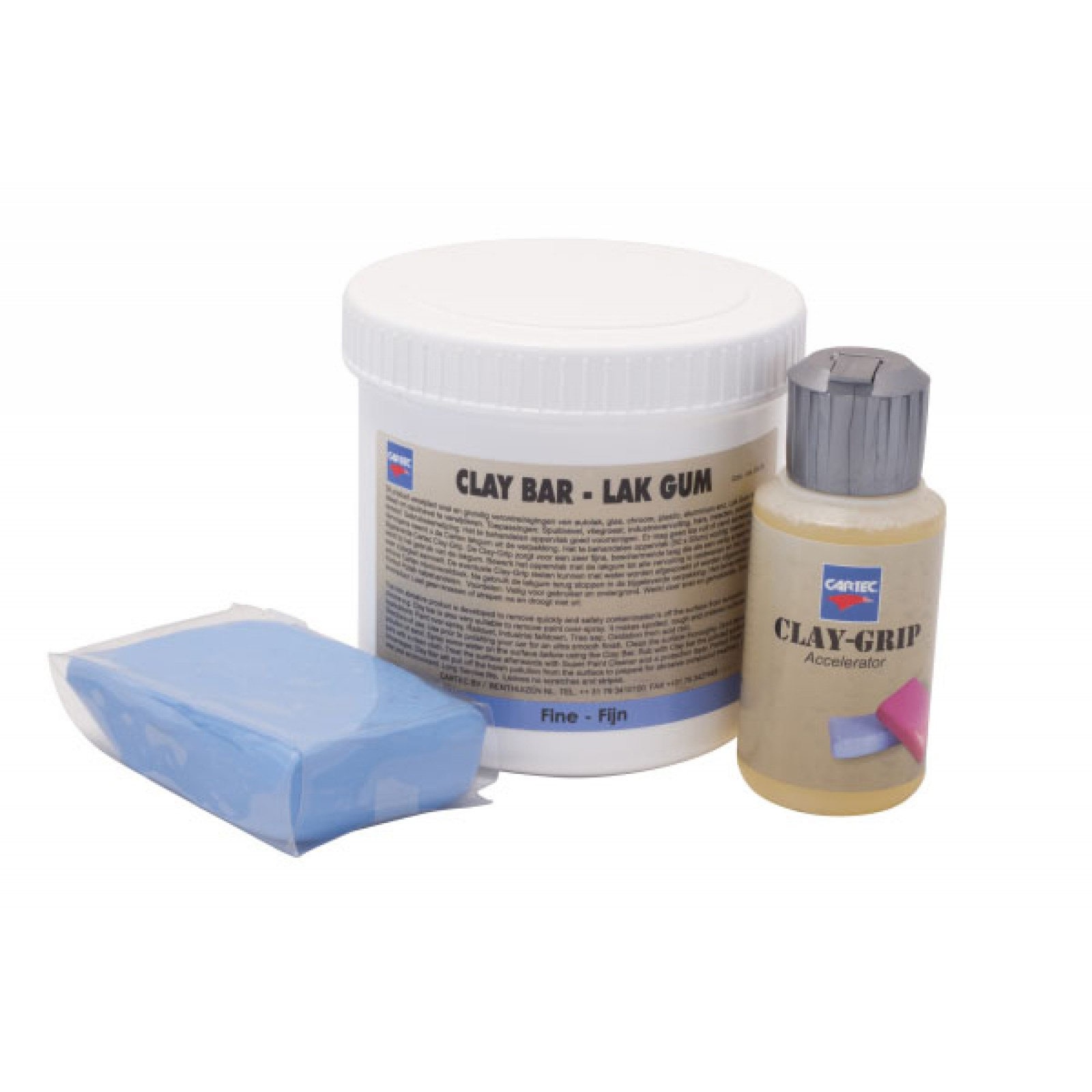 Lakgum Fijn/Blauw (Incl. 100ml Clay Grip) 200gr