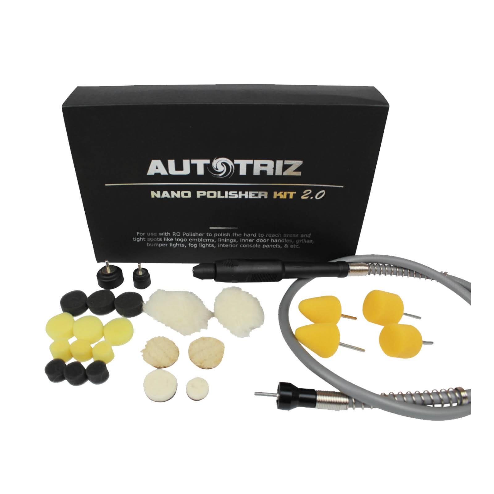 Autotriz Nano Polisher Kit 2.0 Deluxe kit