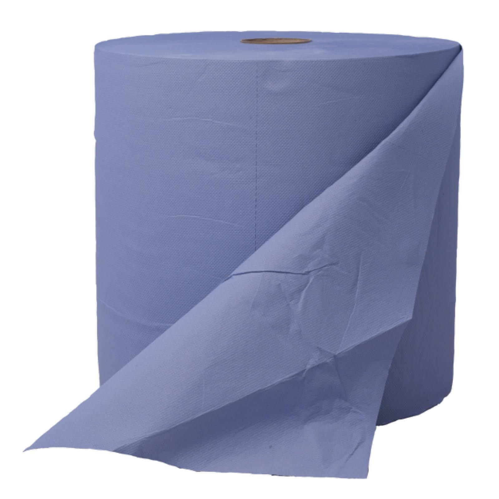 Poetspapier blauw 3lgs 38x37cm 1000vel