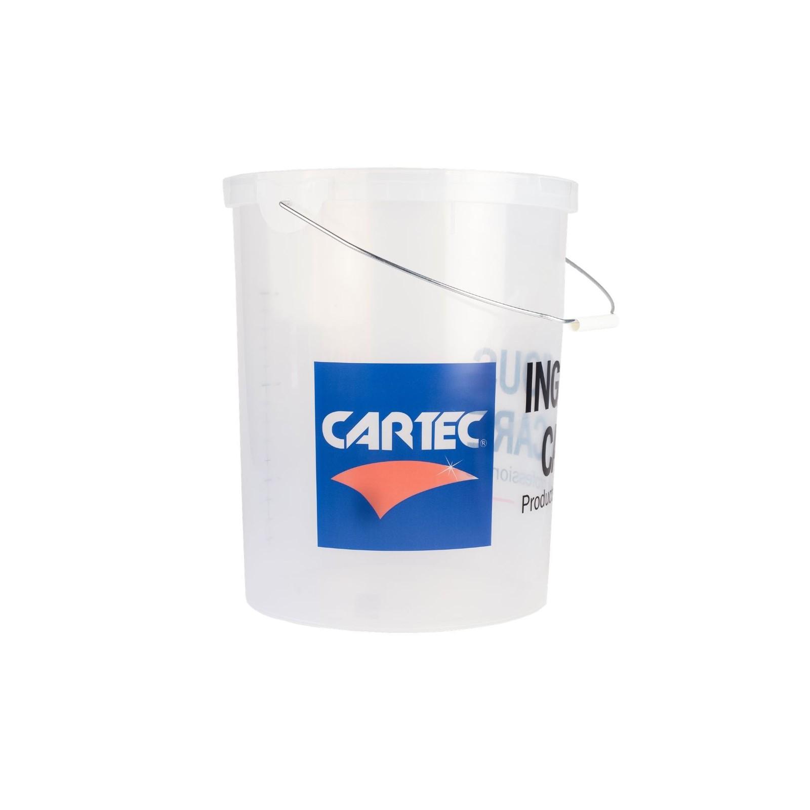 Cartec emmer transparant 21 liter